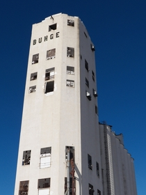 The abandoned Bunge grain elevator Minneapolis MN