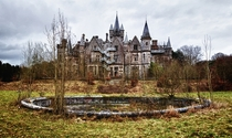 The Abandoned Castle - Chteau Miranda  Chteau de Noisy - Celles - Belgium by Bert Kaufmann