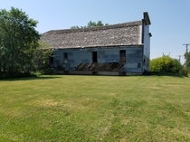 The abandoned dancehall that my grandparents met at Small Town ND