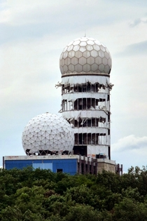 The abandoned Field Station Berlin Teufelsberg a NSA spy station on buried Nazi college