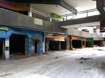 The abandoned Hawthorne Plaza Mall in Los Angeles Since its closure in  its been used in several films including Gone Girl Evolution Minority Report The Fast and The Furious Tokyo Drift and The Green Hornet