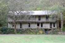 The abandoned Higdon Hotel Built in  Reliance Tennessee