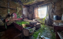 The abandoned Hotel del Salto in Columbia