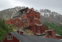 The abandoned Kennecott Mines in Alaska