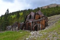The abandoned Mary Murphy Mine in Colorado