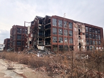 The abandoned Remington Arms Factory Bridgeport CT