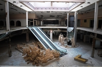 The abandoned Rolling Acres Mall