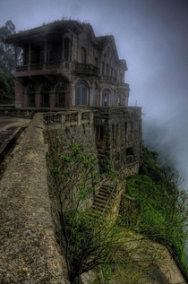 The abandoned Salto Hotel Colombia