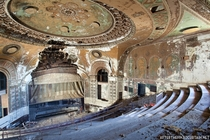 The Abandoned Shore Theatre in Brooklyn NY