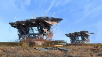 The abandoned Soviet deep space communications complex Pluton-M