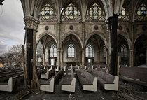 The abandoned St Bonaventure church Philadelphia