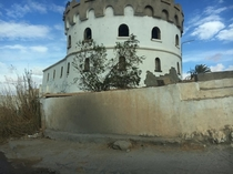 The Abandoned Temple of Ben Walid Libya  x  By me using iPhone