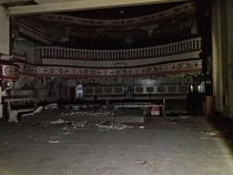 THE ABANDONED VICTORIA THEATRE IN GREATER MANCHESTER