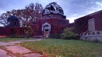 The Abandoned Warner and Swasey Observatory in Cleveland Ohio