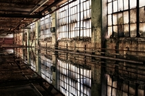 The abandoned Winchester Rifle factory in New Haven