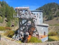 The Abandoned Yankee Fork Gold Dredge near Bonanza Idaho album in comments
