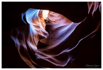 The abstract beauty of Antelope Canyon AZ