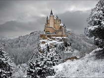 The Alcazar of Segovia Spain