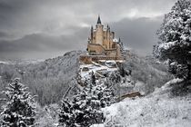The Alczar of Segovia Spain