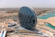 The Aldar building in Abu Dhabi