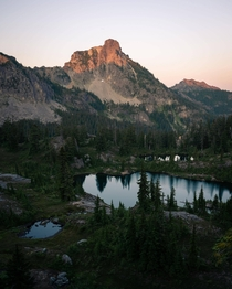 The Alpine Lakes Wilderness in Washington Every time I go I find something new to explore