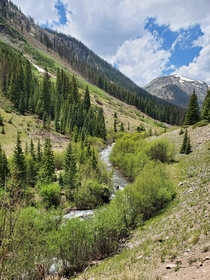 The Alpine Trail loop out of Silverton Colorado x  taken on