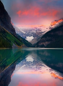 The always beautiful Lake Louise situated in the Banff National Park Canada Photo by Kevin McNeal