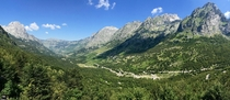 The amazing Albanian Alps near Theth