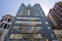 The amazing art deco WCAU Building in Philadelphia  designed by Harry P Sternfeld