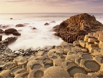 The amazing Giants Causeway in Ireland