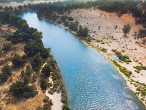 The American River in Sacramento CA  x