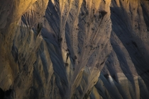 The American Southwest isnt the only place with amazing terrain like this I photographed these while flying through British Columbias southern Coast Mountains last night  tristantodd