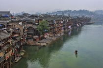 The ancient Chinese town of Fenghuang a UNESCO World Heritage site