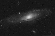The Andromeda Galaxy in Hydrogen-alpha