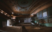 The Apollo Theatre of Tbilisi Georgia Built  abandoned sometime after the Soviet Union collapsed