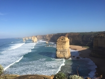 The  Apostles Victoria Australia The worlds largest collection of collapsed sea arches