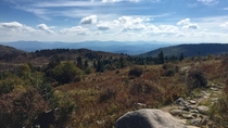 The Appalachian Trail in Southern Virginia