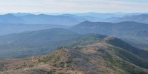 The Appalachian Trail through the southern Presidentials