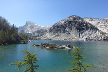 The aptly-named Perfection Lake in the Enchantments WA