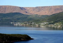 The aptly named Woody Point Newfoundland