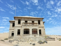 The Architects House - Kolmanskop Namibia
