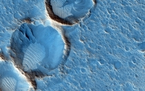 The Ares  landing site from The Martian