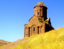 The Armenian church of St Gregory of the Abughamrents Located on the Ancient Silk Road Anatolia Turkey