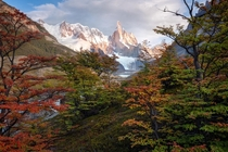 The arrival of fall Cerro Torre Patagonia OC x ig williampatino_photography