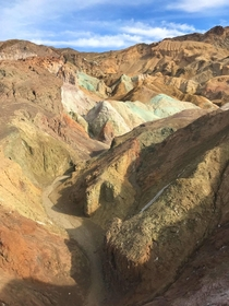 The Artists Palette at Death Valley