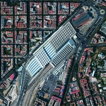 The Atocha Railway Station is the largest train station in Madrid Spain The facility serves as a hub for commuter trains intercity and regional trains from the south and AVE high-speed trains