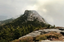 The Attic Window from MacRae Peak Grandfather Mountain North Carolina