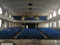 The auditorium of Libbey High School in Toledo Ohio
