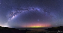 The Aurora Australis AKA The Southern Lights from Victoria Australia