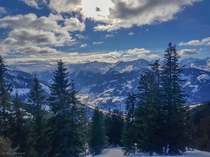 The Austrian Gastein valley x